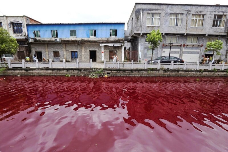 Красные реки Китая