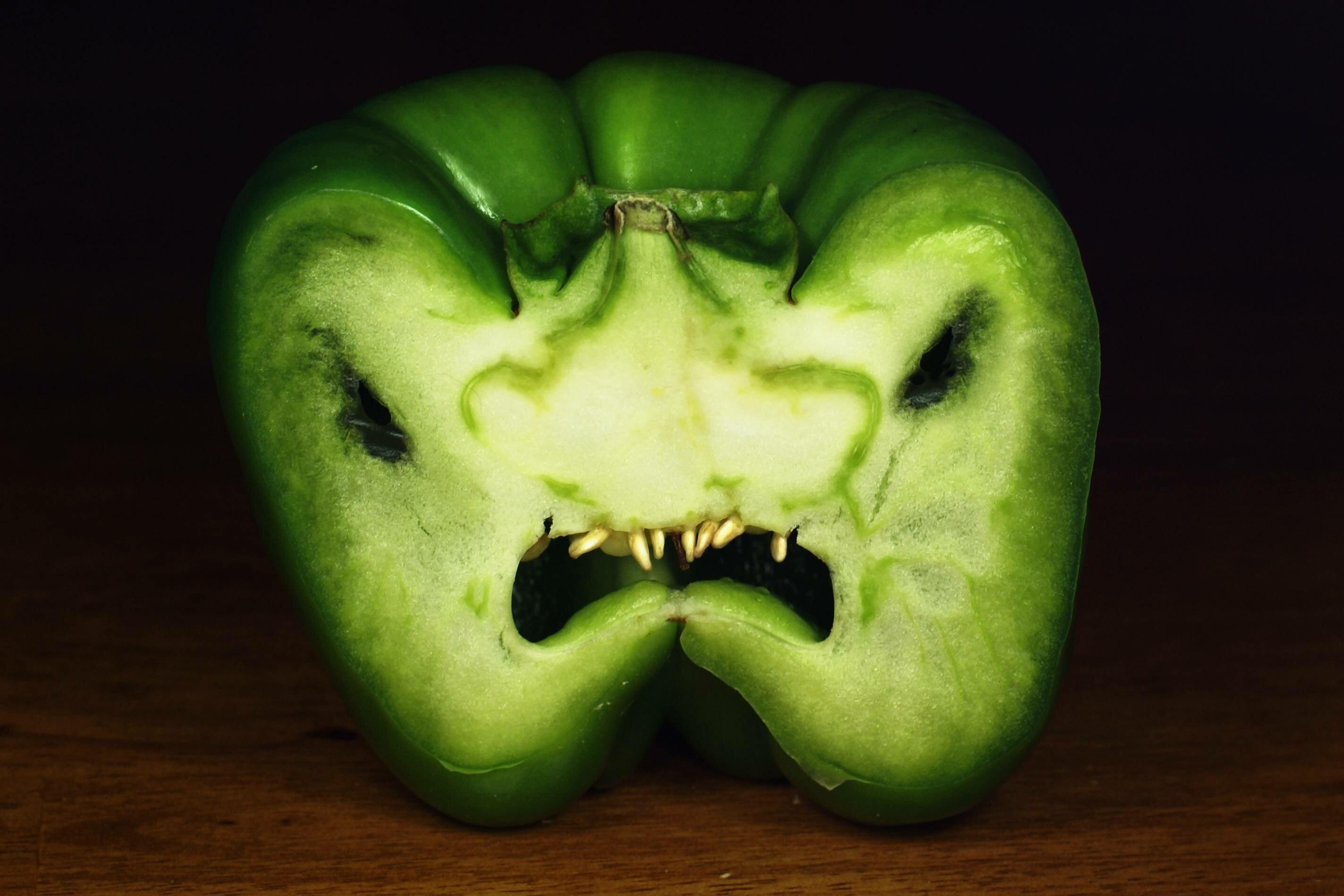 Прикольные овощные картинки