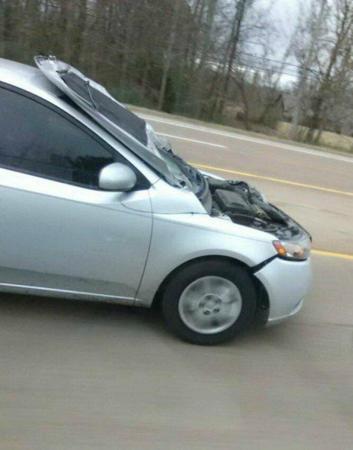 Странные ситуации на дороге