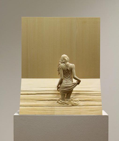 Скульптуры из дерева итальянского скульптора и художника Петера Демеца