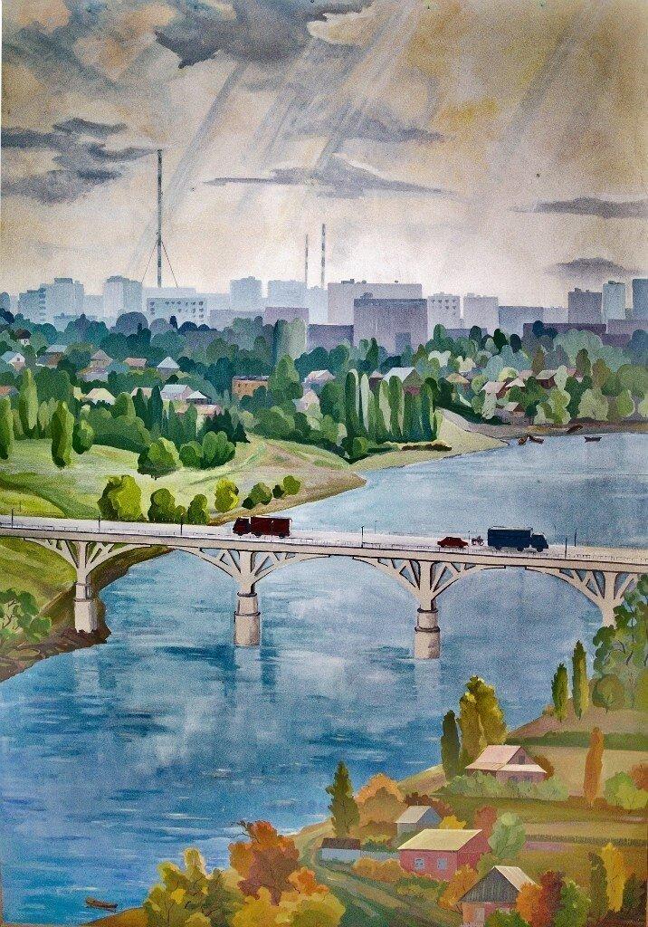 Современный городской пейзаж