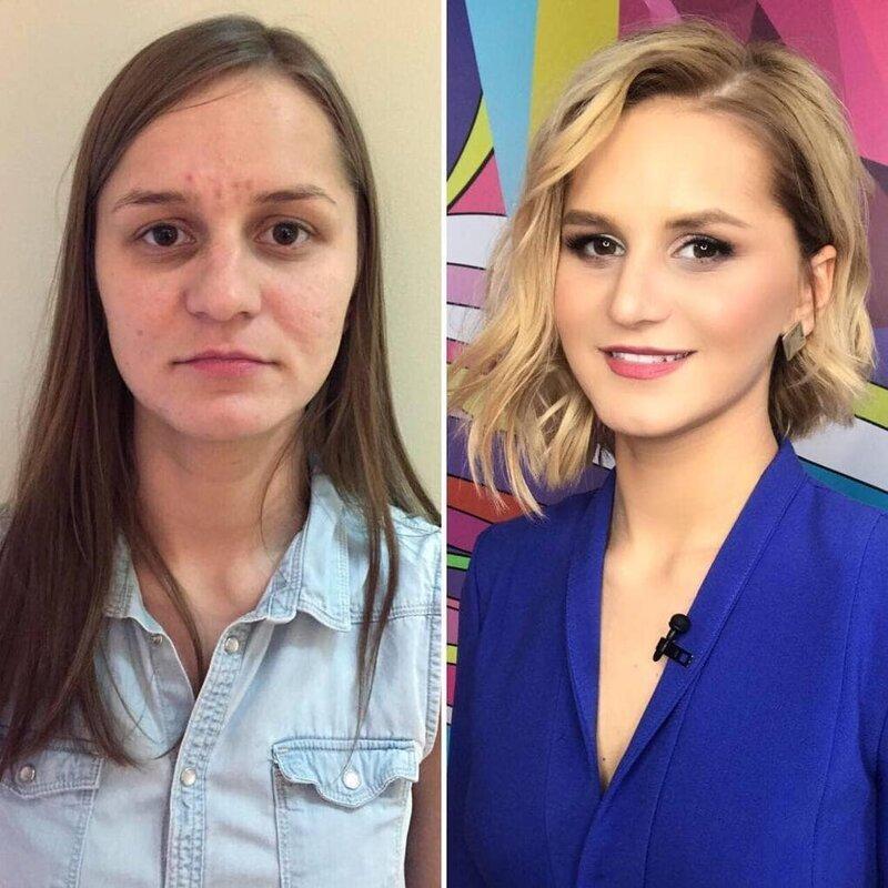 Кардинальное изменение внешности фото до и после