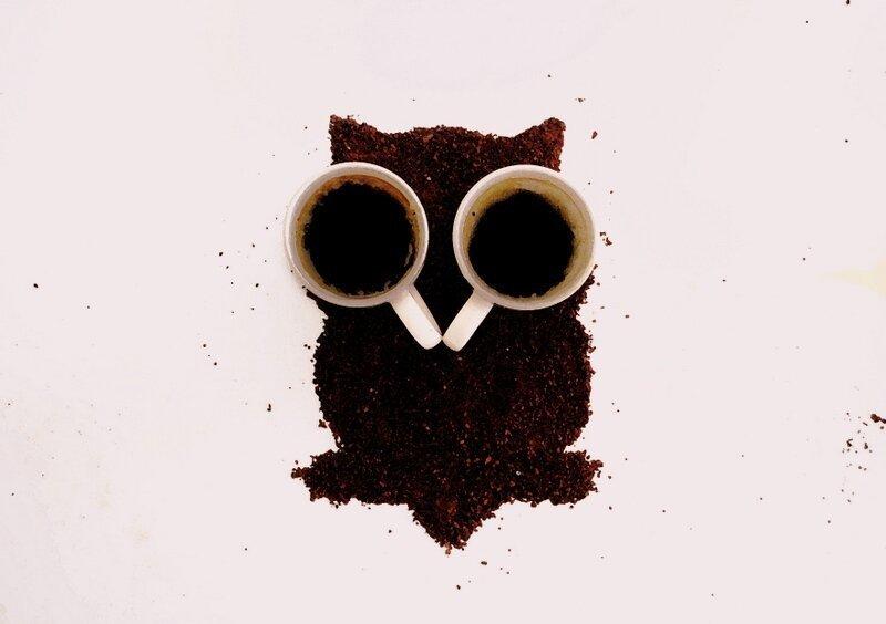 Прикольны картинки кофе, днем