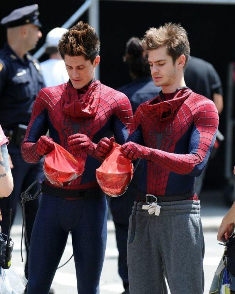 Новый человек-паук эндрю гарфилд картинки