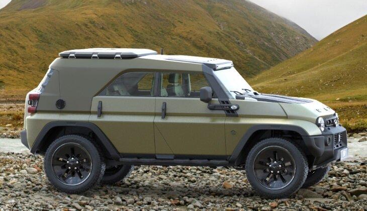 Дизайнер создал ремейк легендарного УАЗа-469