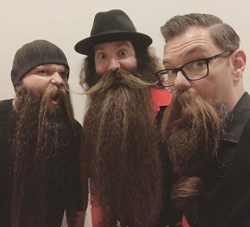 По словам Лэнса, мероприятие с бородачами его поразило Лэнс Вутон, борода, в мире, волосы, истории, люди, мужчина, растительность