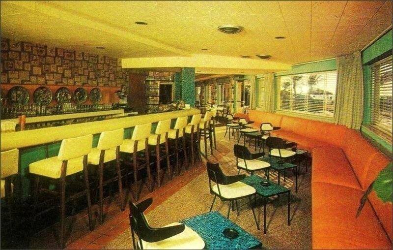 атмосферно американские бары и лаунджи 50 х и 60 х годов