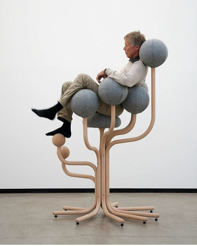 5. Стул — сад круглых деревьев от Питера Опсвика дизайн, дизайнеры, идея, креатив, талант, фото