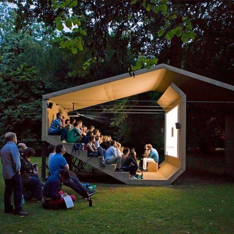 14. Кинотеатр от Эрики Хок дизайн, дизайнеры, идея, креатив, талант, фото