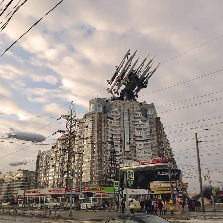 Потрясающие фотоманипуляции художника из России