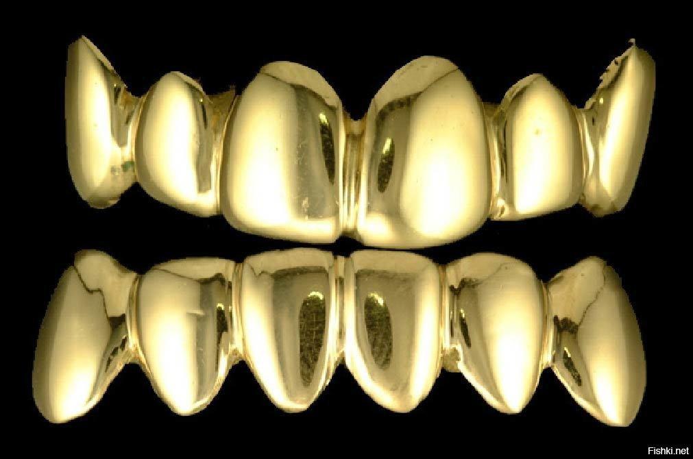 картинки золотого зуба стеклопакет