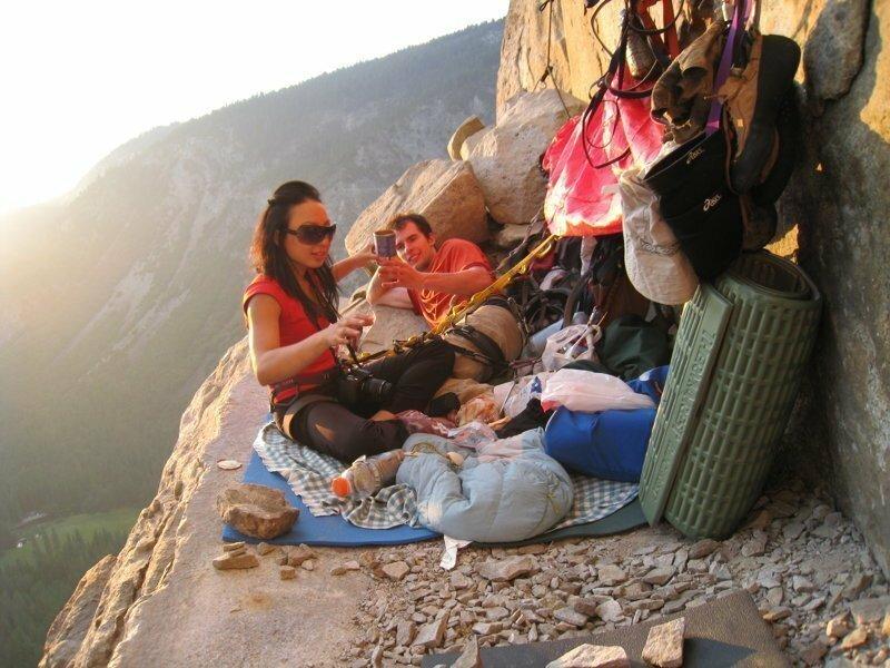 Как спят скалолазы горы, скалолаз, спят