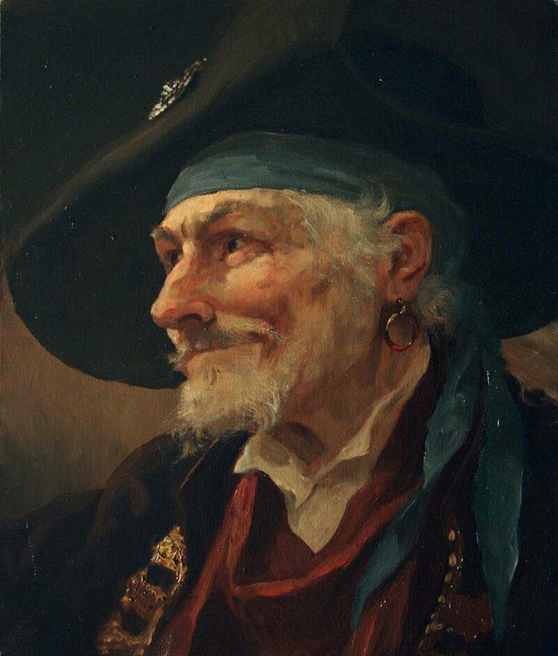 Почему пираты носили в ухе серьгу? СерьГа, корабль, корсар, пират, плата, почемучка, ухо, флибустьер