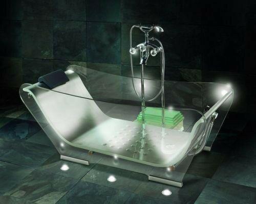 Необычные и красивые ванны