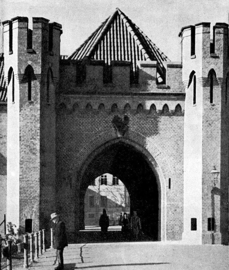 часто останавливались росгартенские ворота послевоенные фото предложила