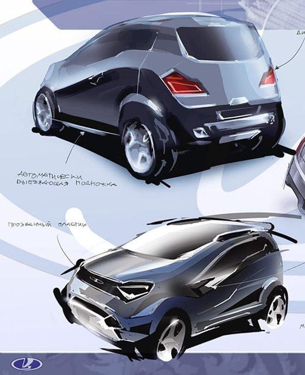 Студенческий концепт Lada Kalina 4x4, который даже не собирались запускать в серийное производство