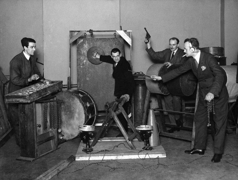 20. Работники отдела звуковых эффектов BBC, 1927 год интересно, исторические фото, история, фото, фото из прошлого
