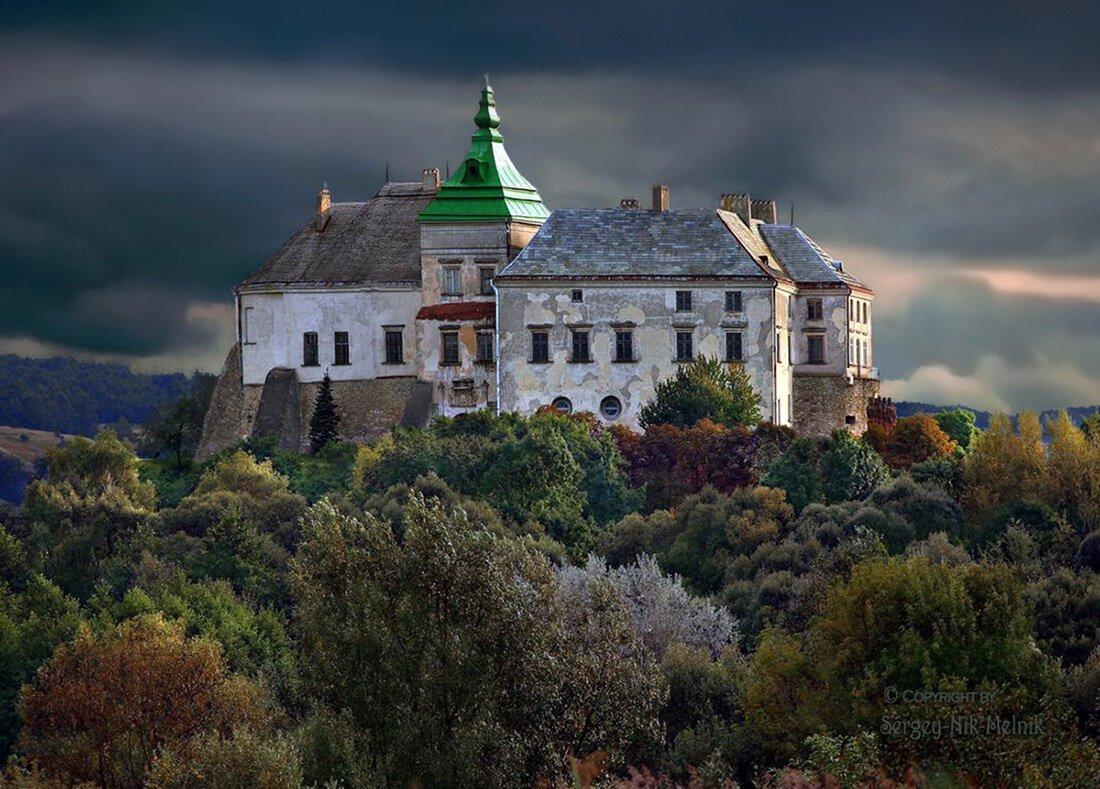 замки украины фото какие