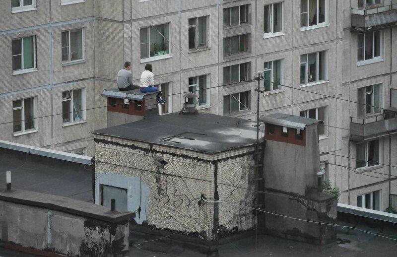 Крыша — идеальное место для свиданий