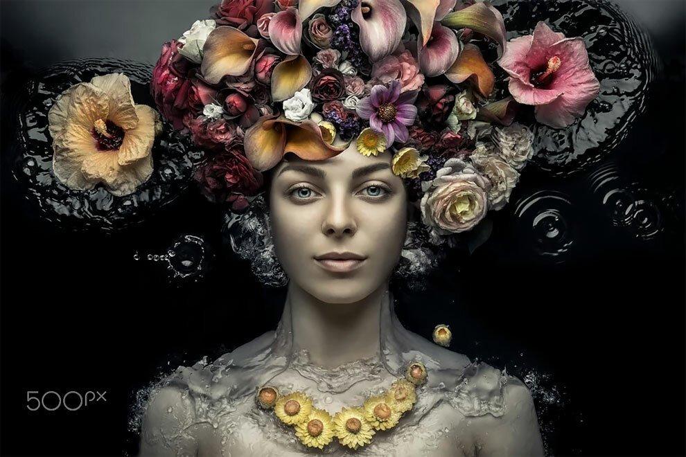 Концептуальные феи от украинского фотографа Евгения Колесника