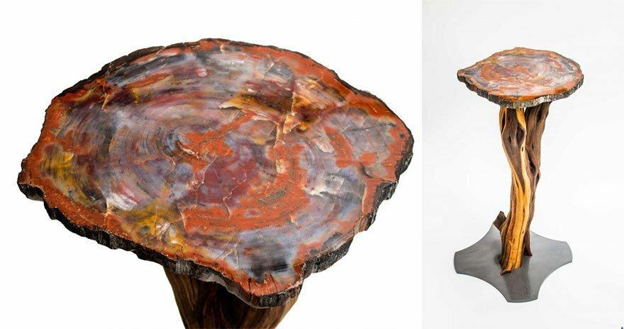 Необычные и оригинальные дизайнерские столы