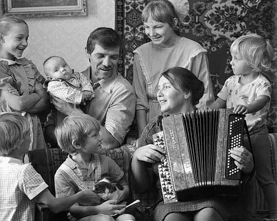 картинки семья советского