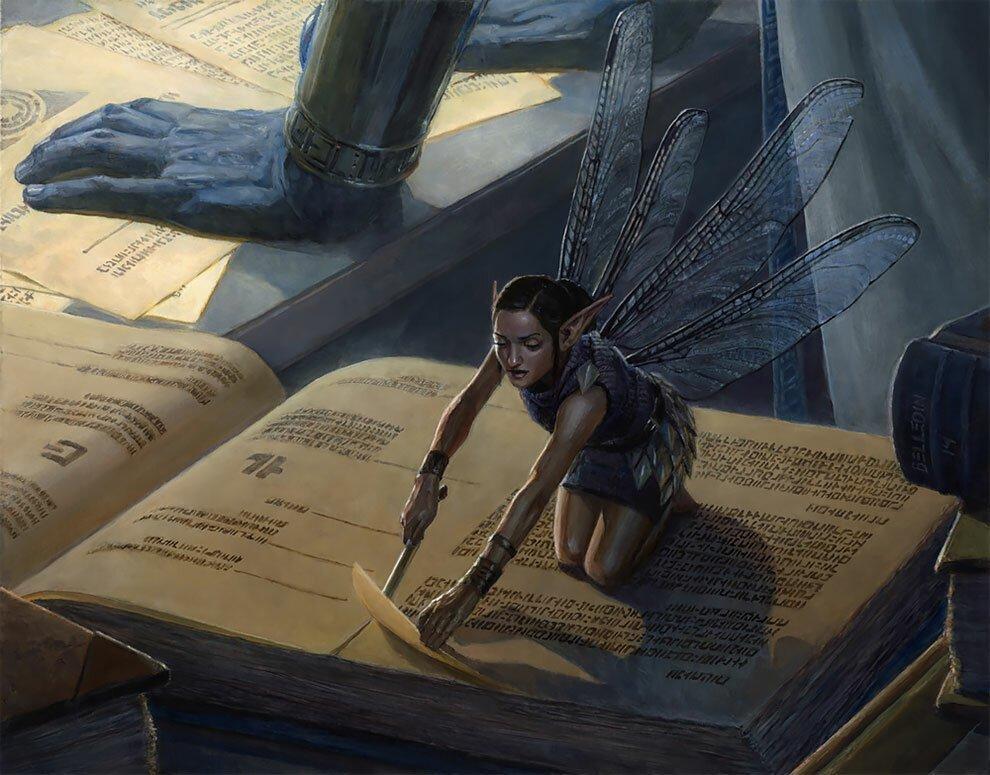 """""""Сумеречные тени"""": фантазийные рисунки маслом от Стивена Белледина"""