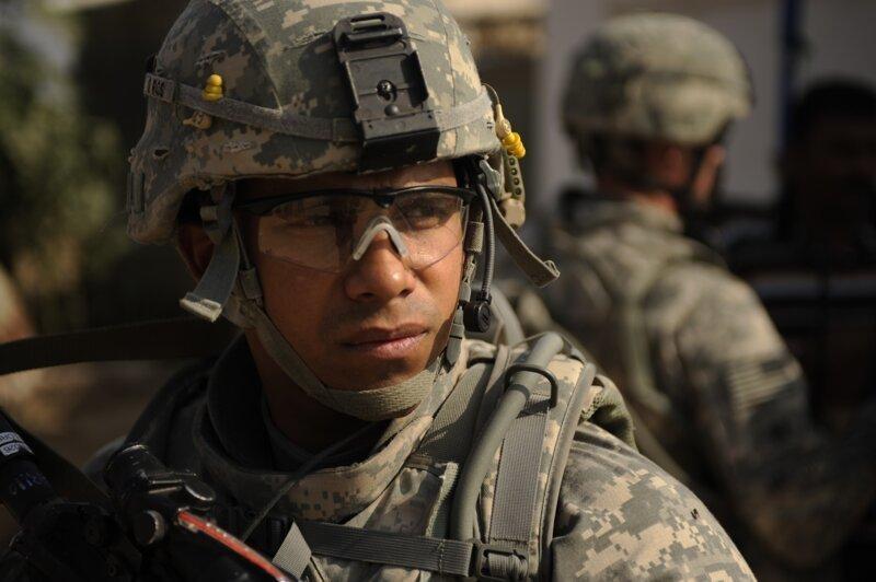 Американский солдат в картинках