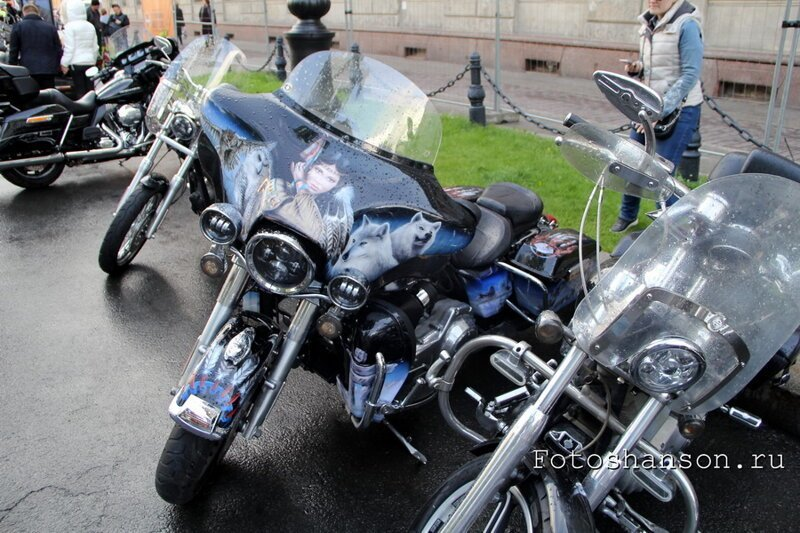 Бродя по мотофестивалю St.Petersburg Harley Days 2019