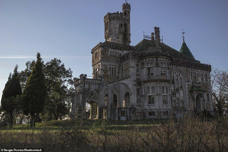 12. Dona Chica's Castle, Палмейра, Брага, Португалия