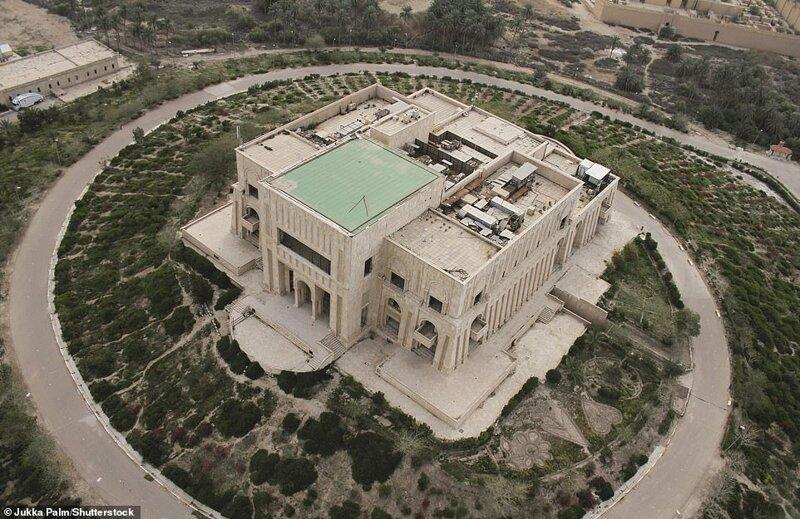 8. Дворец Саддама Хусейна, Эль-Хилла, мухафаза Бабиль, Ирак