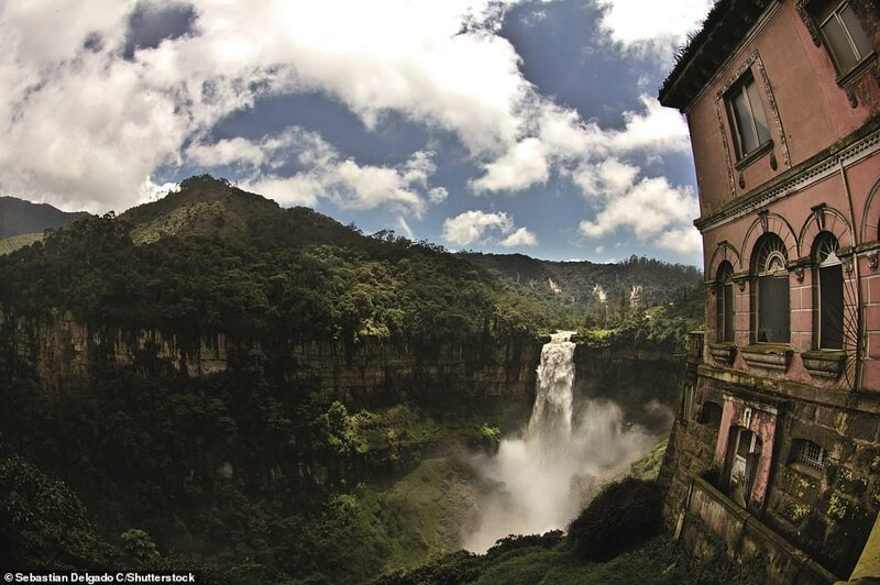 7. Hotel del Salto, Сантандерцито, Колумбия