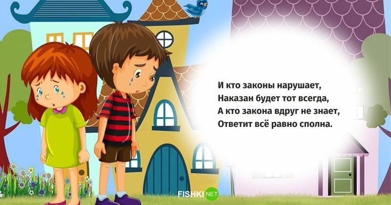 Незнание закона не освобождает от ответственности ynews, дети, интересное, конституция, новости, фото, школа
