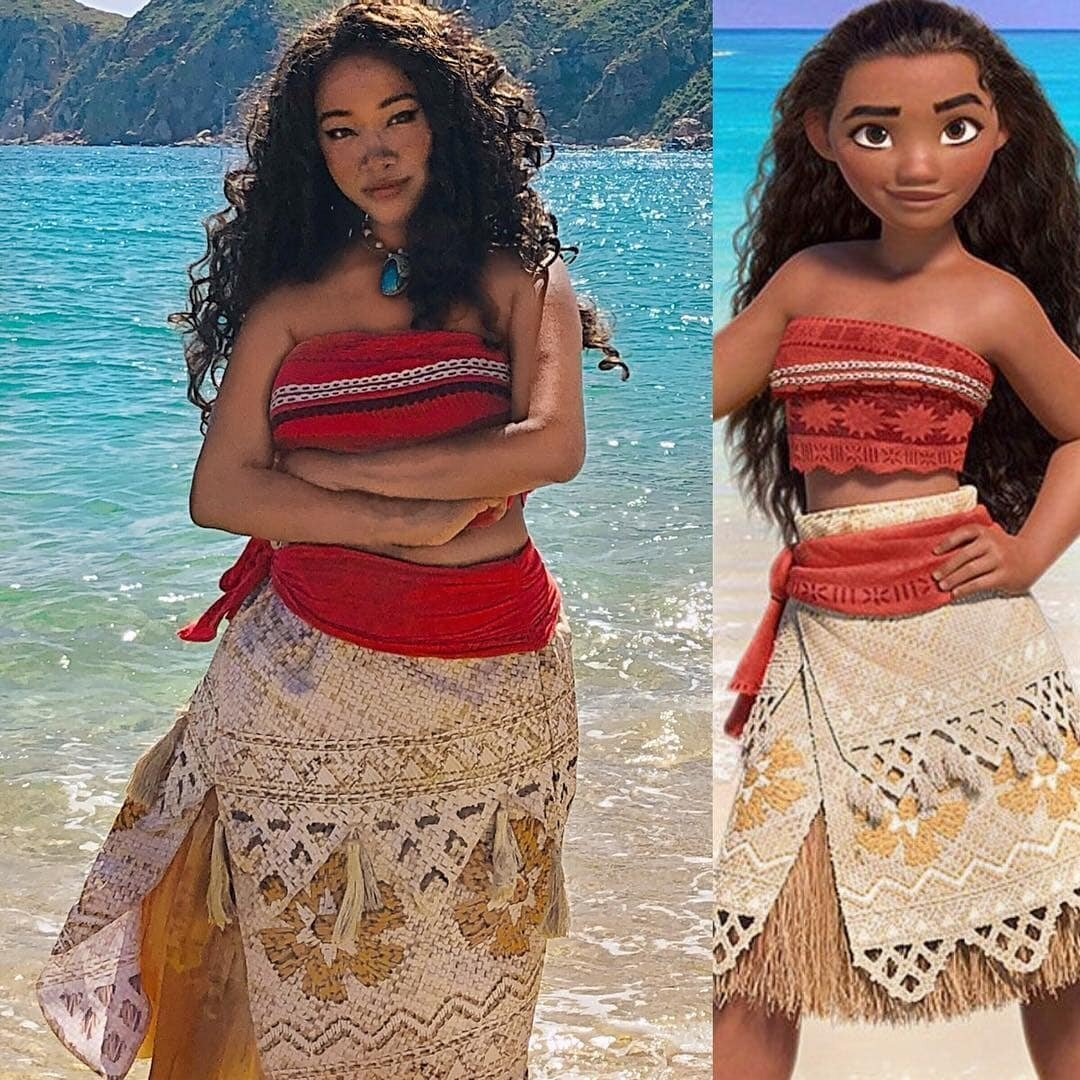 French Maid Moana Porn Images