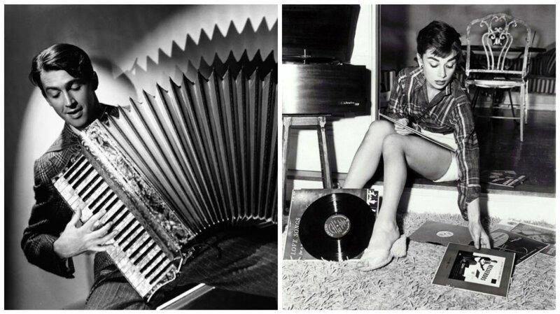 Музыкальная пауза: редкие фотографии звёзд золотого века Голливуда