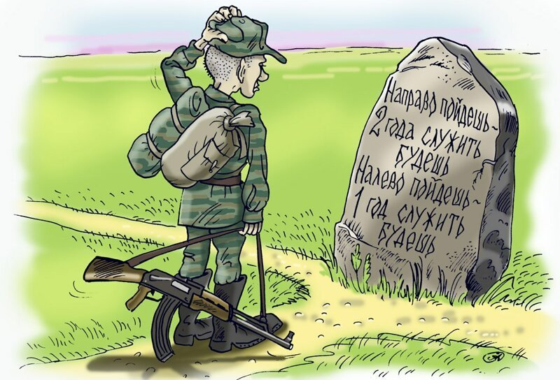 Открытка из военкомата