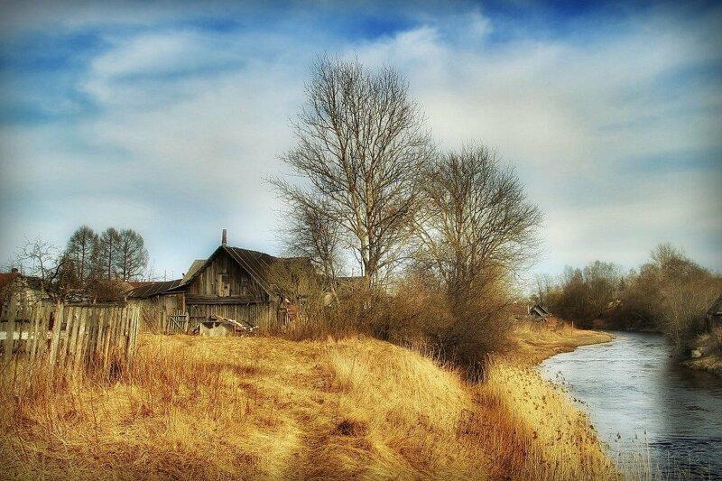 Красивые картинки деревни весной