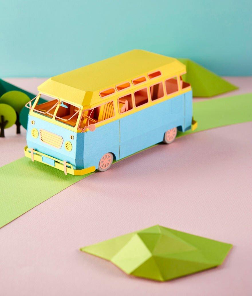 Художница из Кореи создаёт удивительно красивые и детализированные произведения из бумаги