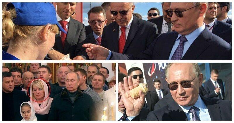 Правда ли, что Путин встречается с одними и теми же