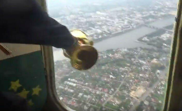 Крестный лет: Тверь окропят с вертолета святой водой, чтобы избавить город от пороков