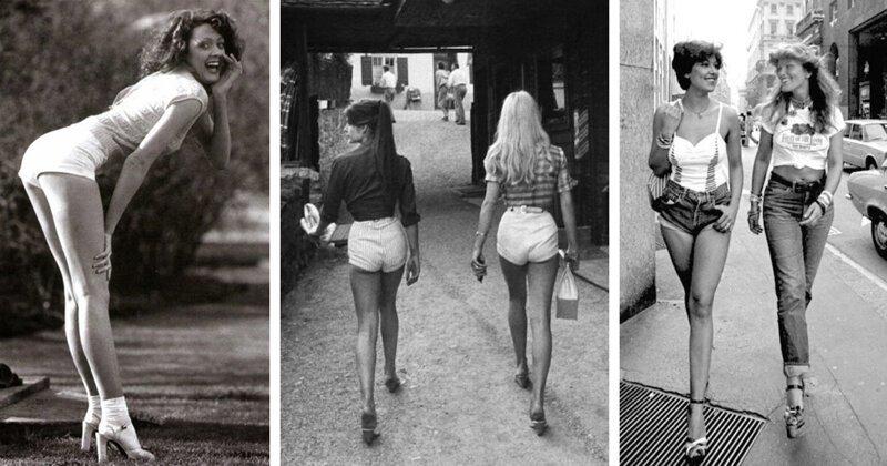 Девушки семидесятых: естественная красота и сексуальность