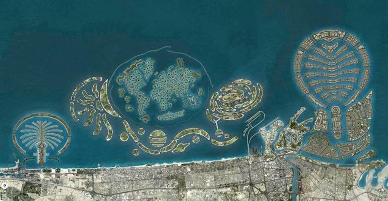 Дубай искусственные острова аренда виллы на корфу