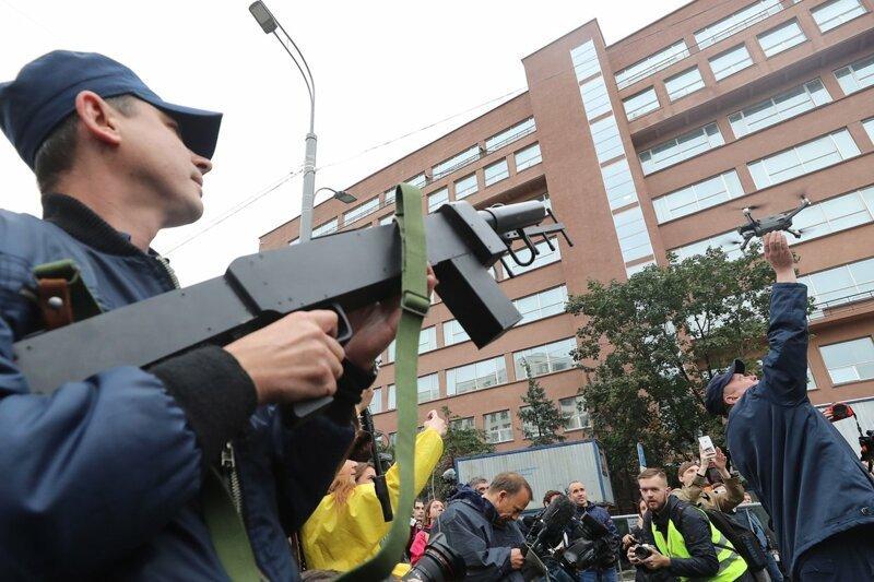 Дума поддержала законопроект, разрешающий силовикам сбивать дроны