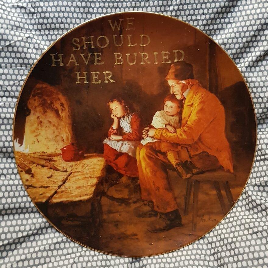 Юмор не для всех: нетипичные тарелочки от немецкой художницы