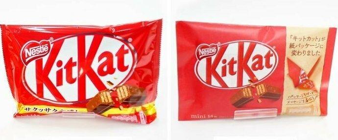 Японский KitKat стал экологичнее