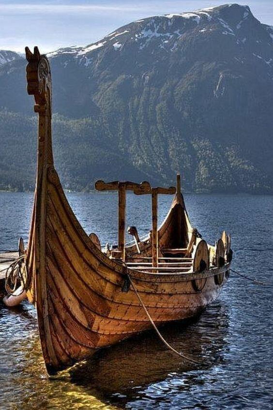 Драккары идреки викингов: исторические факты (20фото)