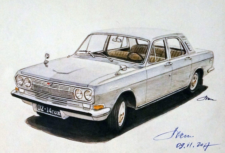 С V6 и четырьмя фарами: какой могла стать «Волга» ГАЗ-24