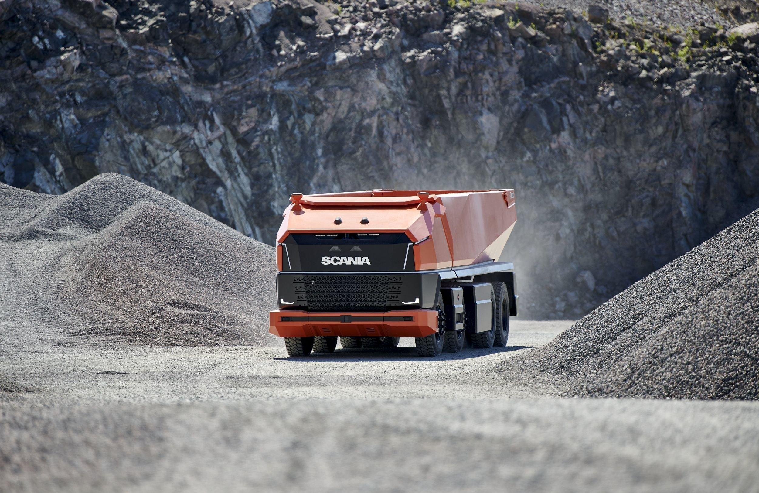 Scania AXL: концептуальный автономный грузовик, у которого даже нет кабины