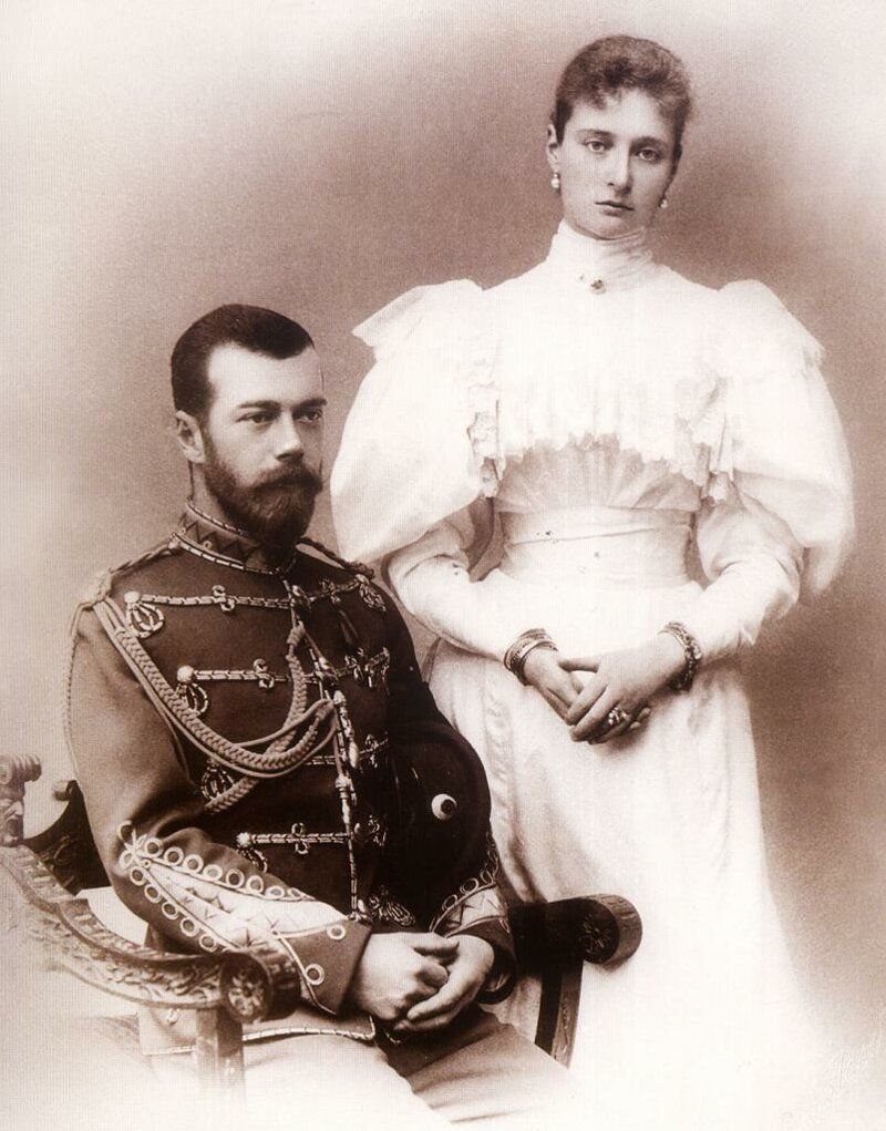 отправляем живых фото русских императоров и императриц портрет холсте