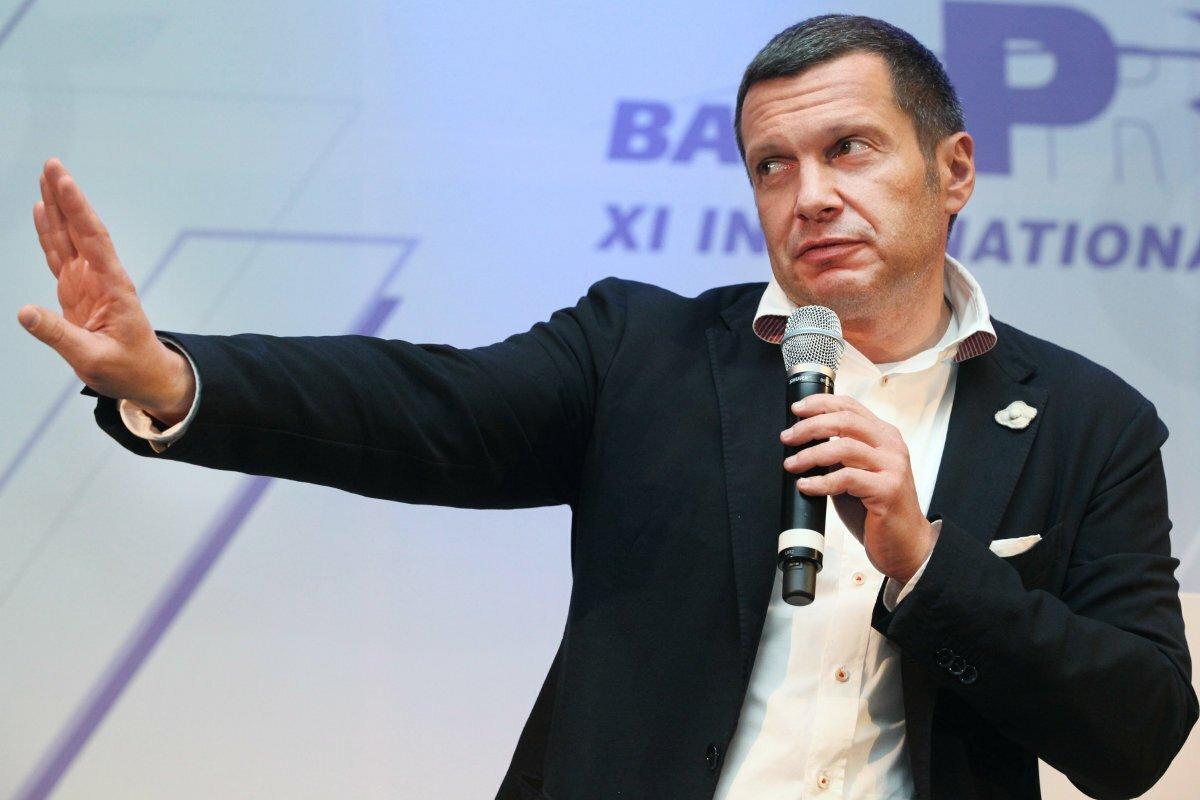 Российские ведущий и журналист фото